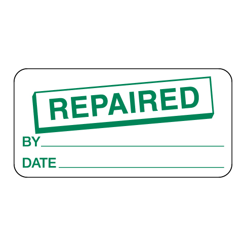 Repaired Label