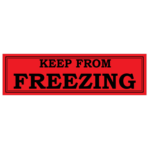 Keep From Freezing Fluorescent Label
