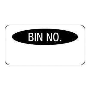 Bin Number Label