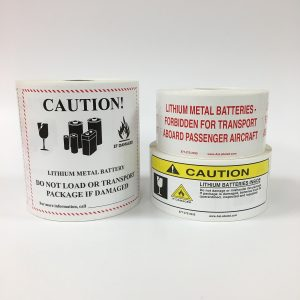 Lithium Battery Labels